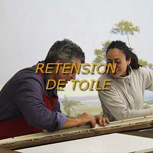 Atelier de restauration de tableaux Patrick Buti